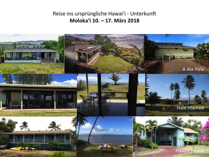 Unsere Unterkunft auf Molokai